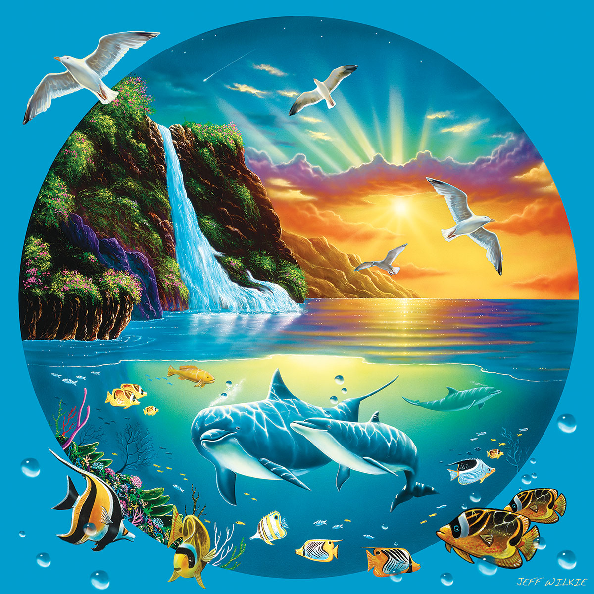 Majestic Sanctuary Under The Sea Jigsaw Puzzle