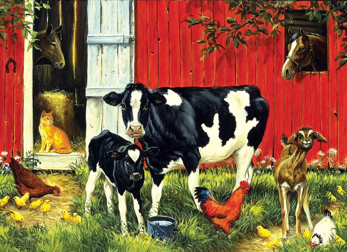 Old MacDonald's Farm Farm Jigsaw Puzzle