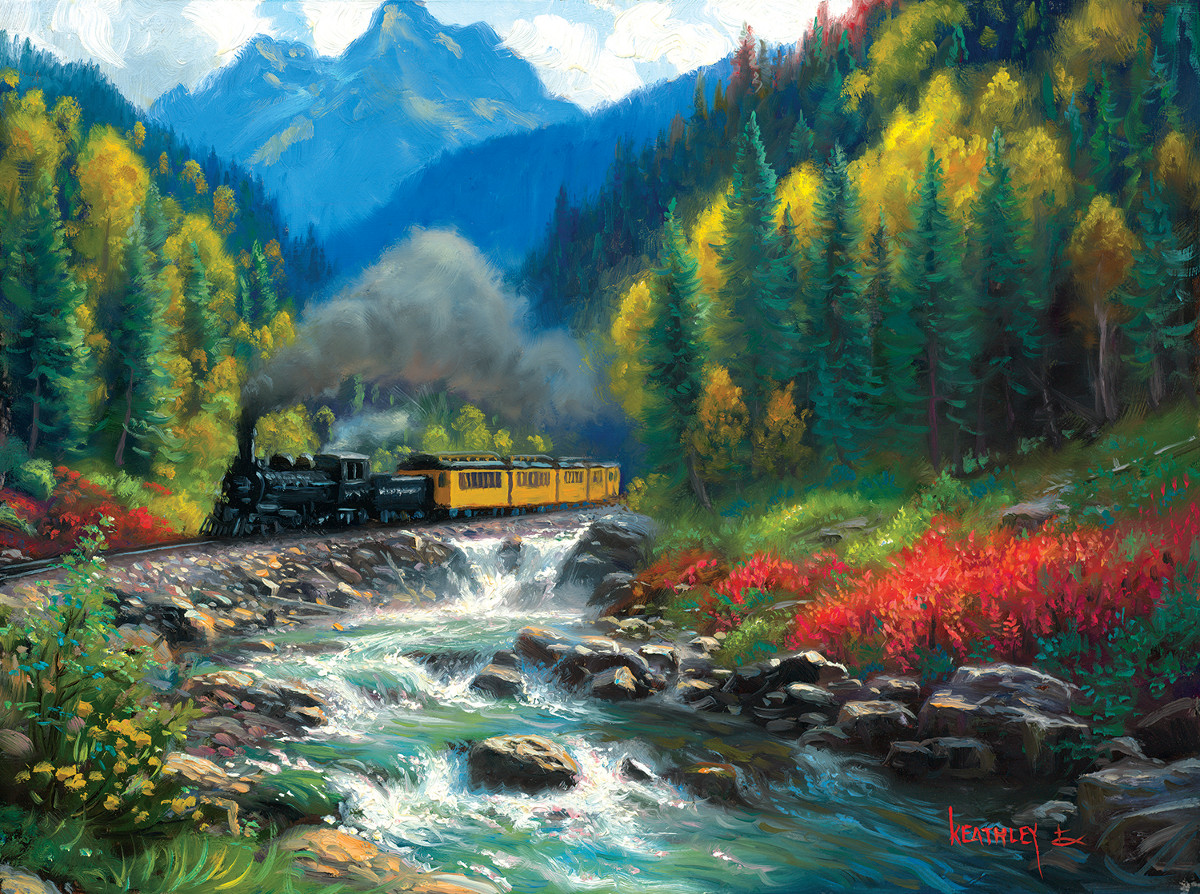 Durango Silverton - Scratch and Dent Mountains Jigsaw Puzzle