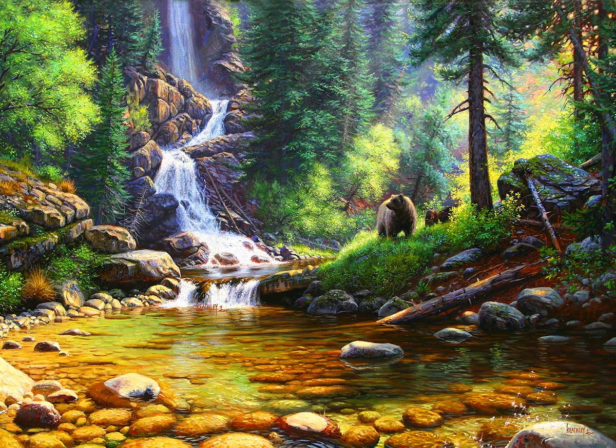 Quiet Repose Forest Jigsaw Puzzle
