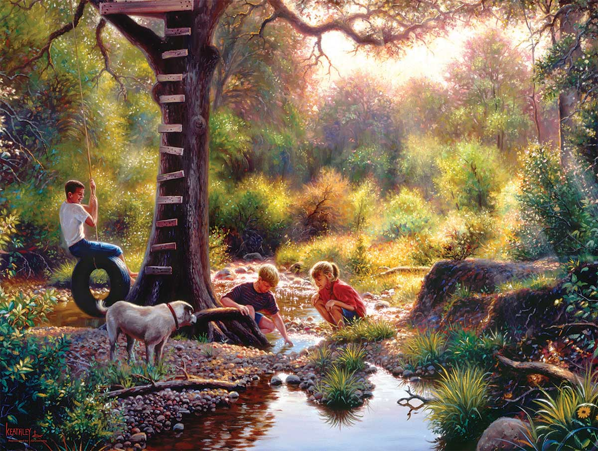 The Clubhouse Forest Jigsaw Puzzle