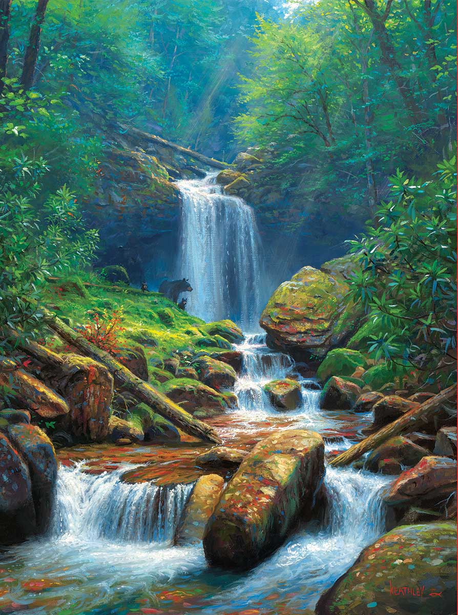 Mystic Falls Forest Jigsaw Puzzle