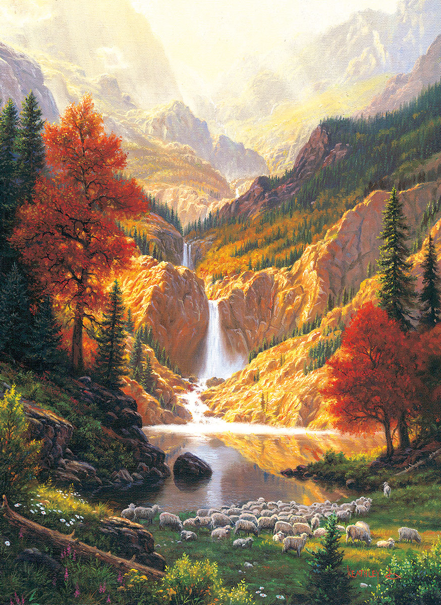 Still Waters Mountains Jigsaw Puzzle
