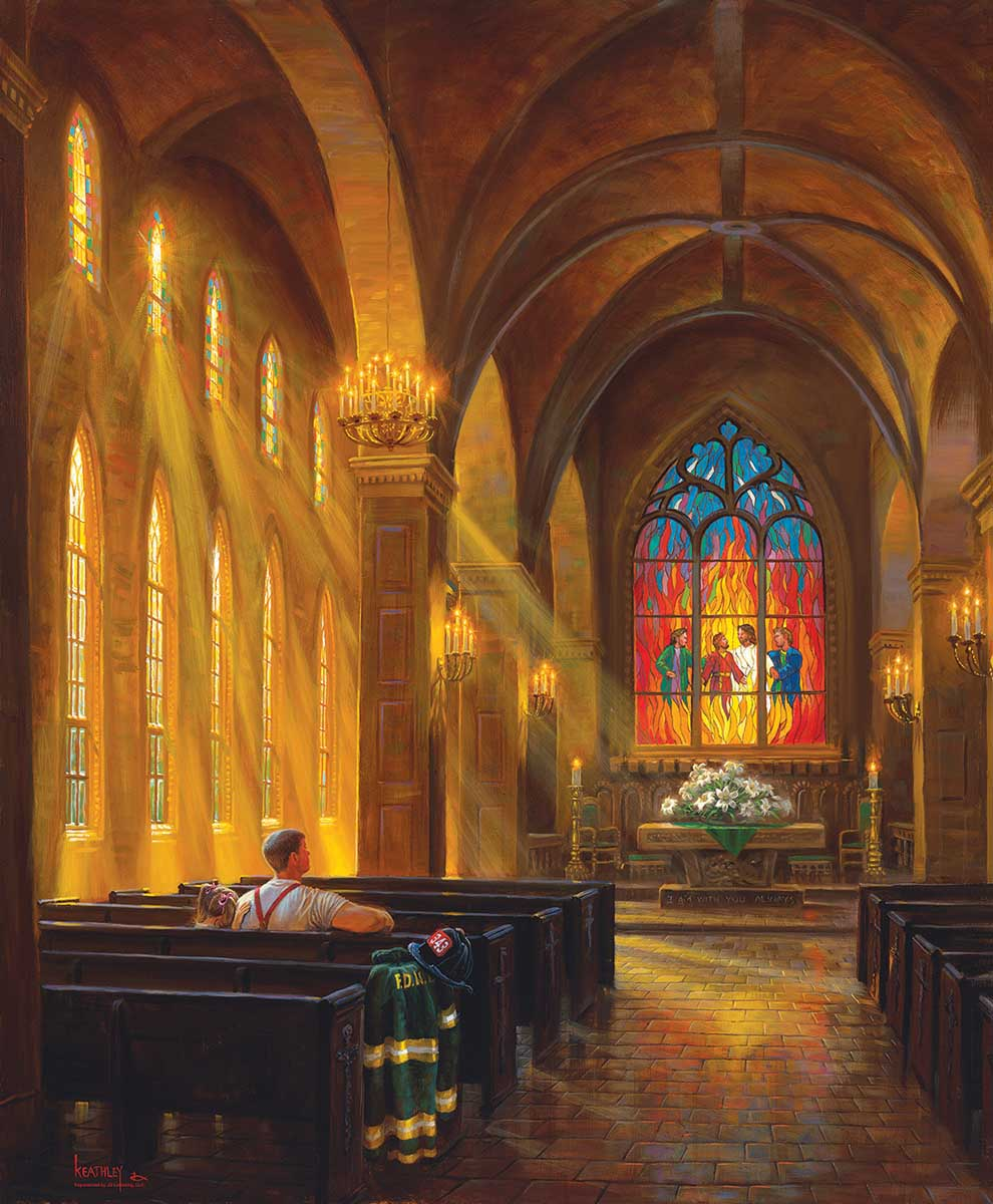 Sanctuary of Peace Churches Jigsaw Puzzle