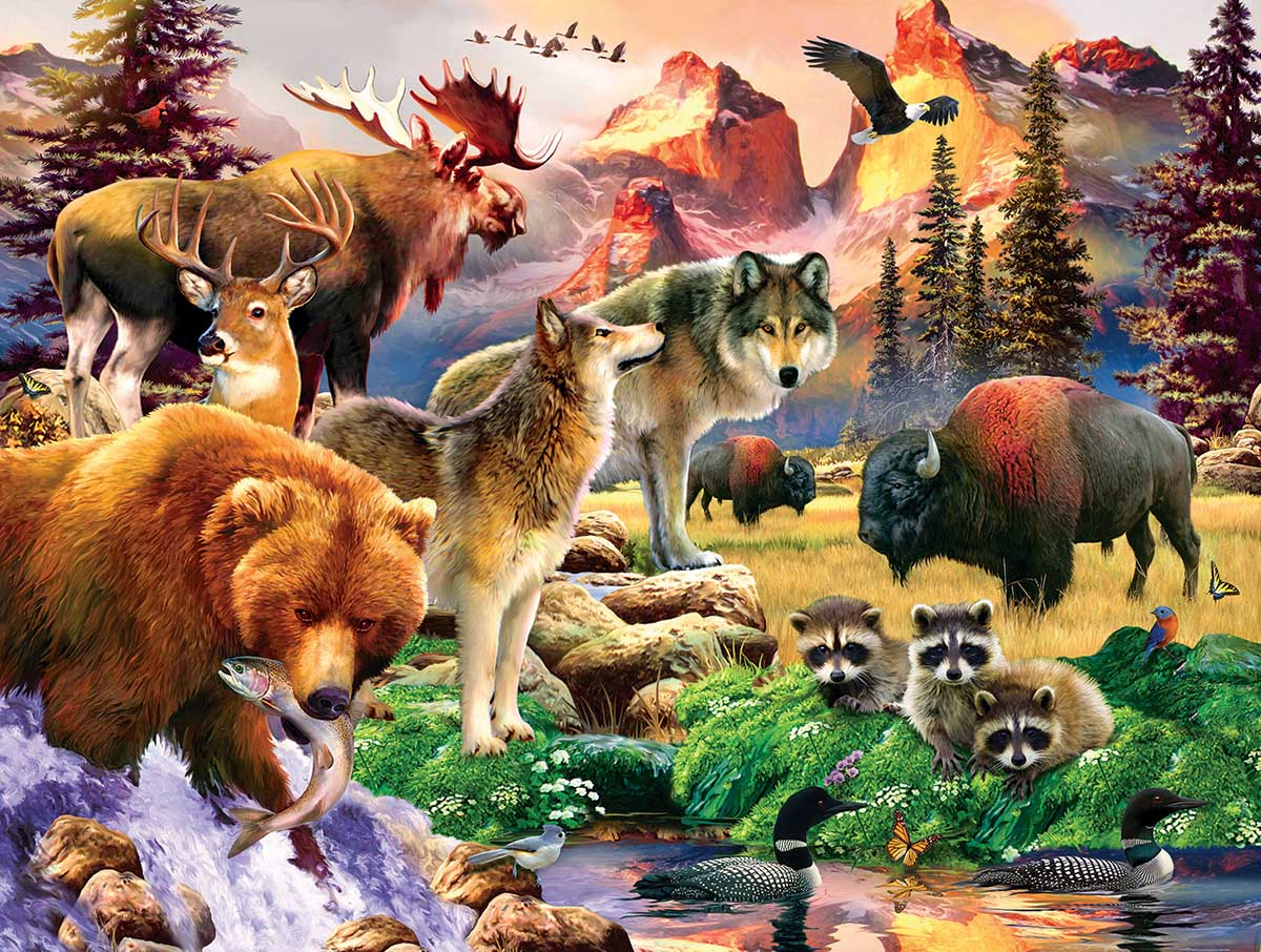 The Great Outdoors Animals Jigsaw Puzzle