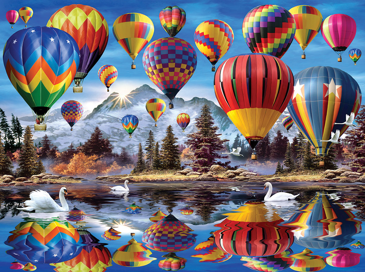 Hot Air Balloons - Scratch and Dent Jigsaw Puzzle