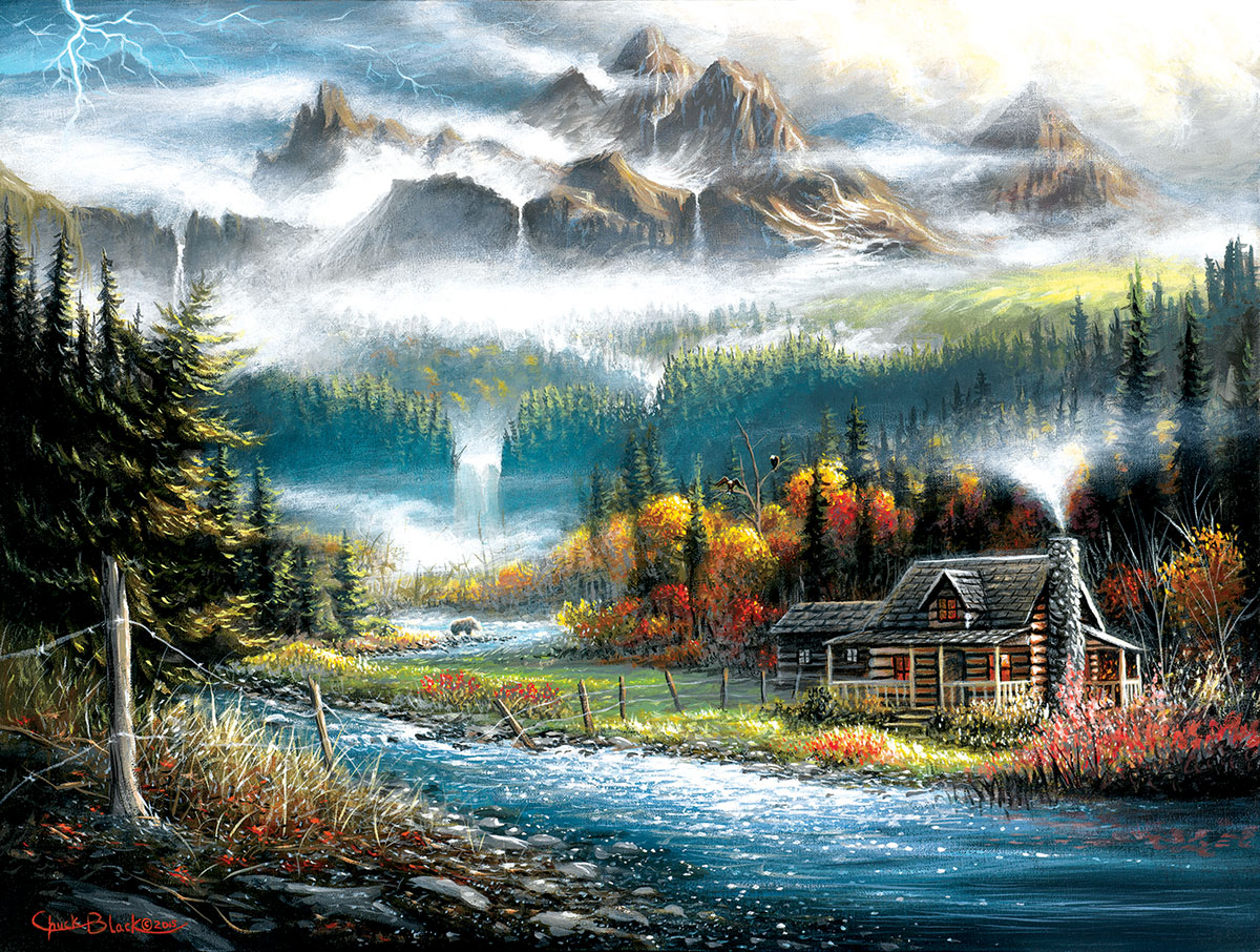 Valley Paradise Jigsaw Puzzle