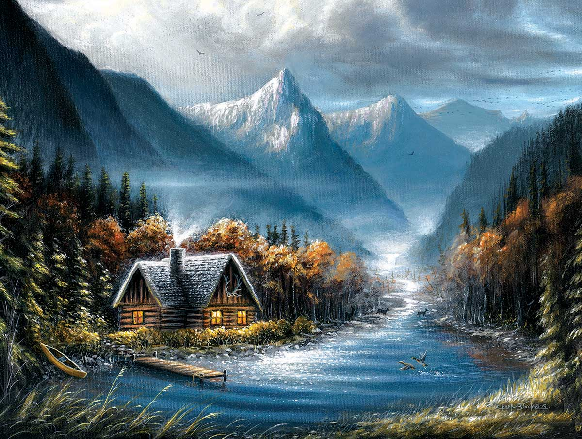 Lost Creek Mountains Jigsaw Puzzle