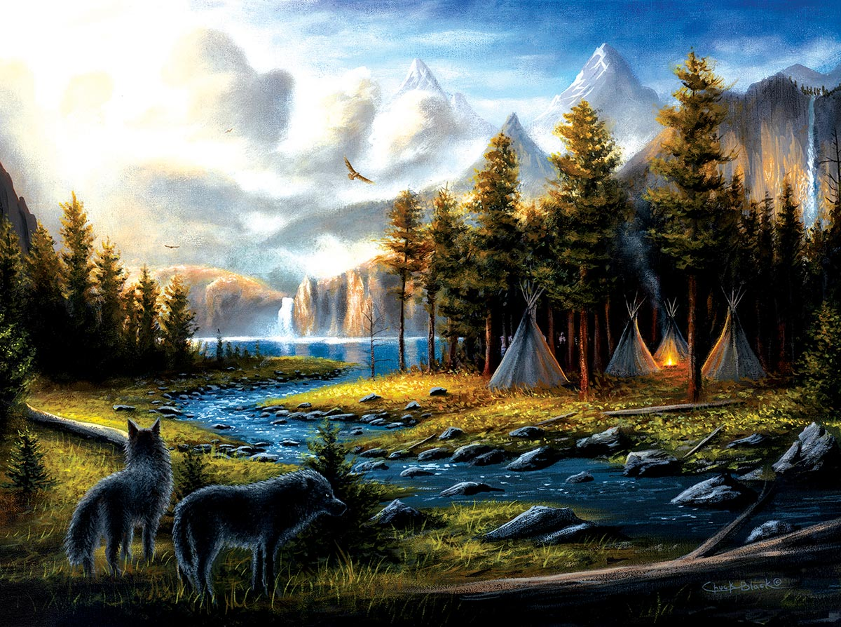 Living Wild Mountains Jigsaw Puzzle
