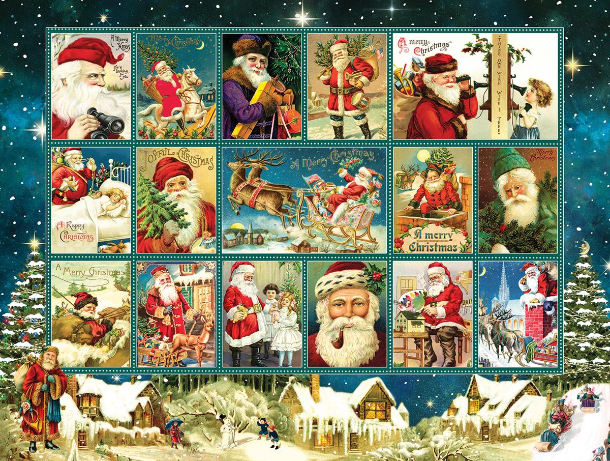 Jolly Old Saint Nicholas Santa Jigsaw Puzzle