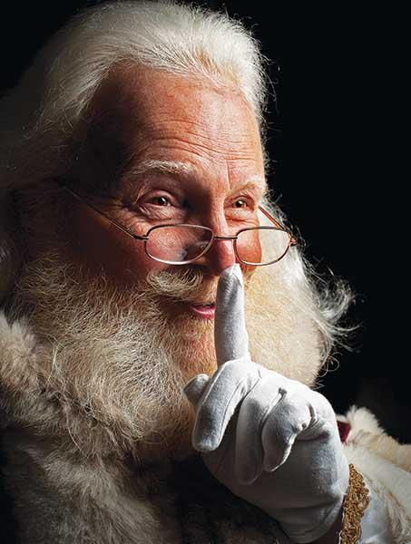 He Spoke Not a Word Santa Jigsaw Puzzle