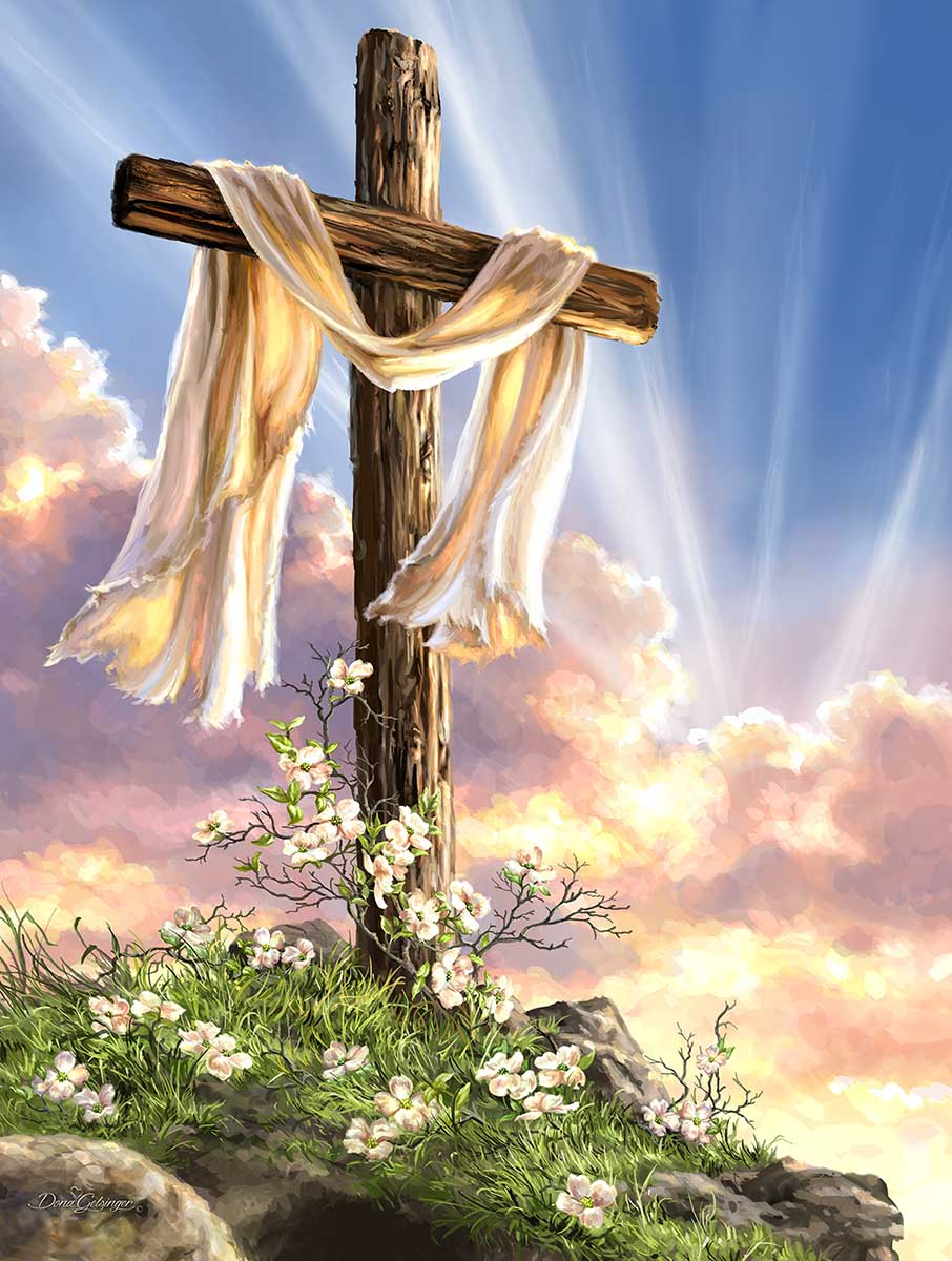 He is Risen Religious Jigsaw Puzzle