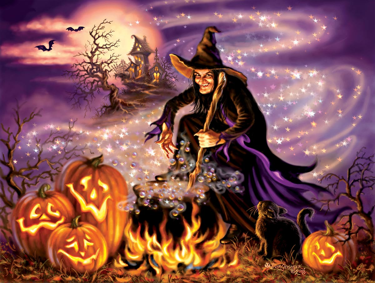 All Hallows Eve Halloween Jigsaw Puzzle