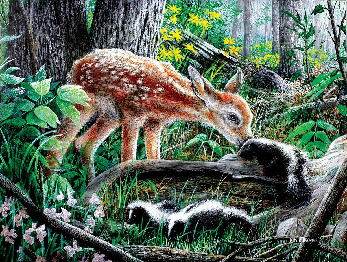 Friends of the Forest Animals Jigsaw Puzzle