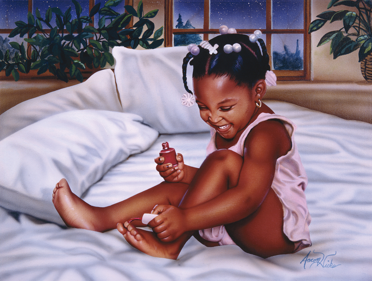 Getting Her Groove Back Domestic Scene Jigsaw Puzzle