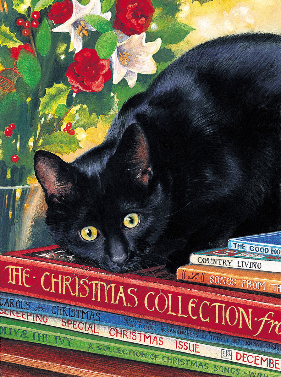 Christmas Collection Cats Jigsaw Puzzle