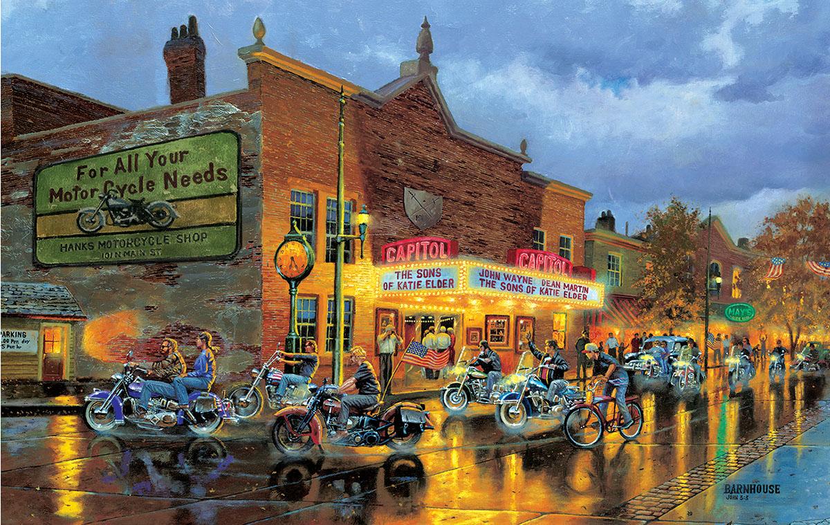 American Classics Street Scene Jigsaw Puzzle