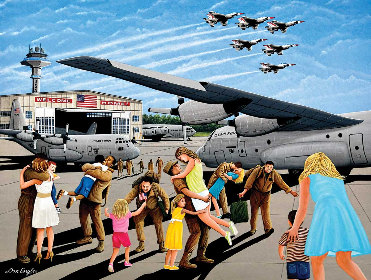 Family Welcome Military / Warfare Jigsaw Puzzle