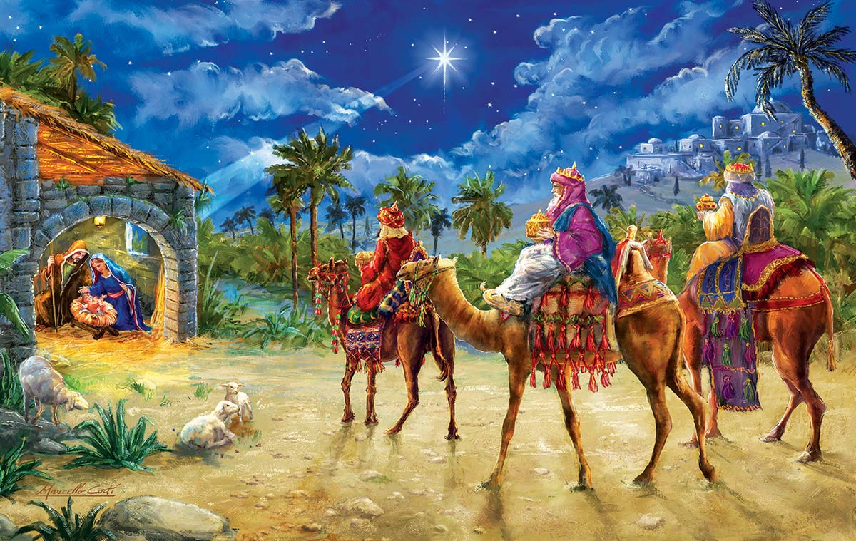 Journey of the Magi Religious Jigsaw Puzzle