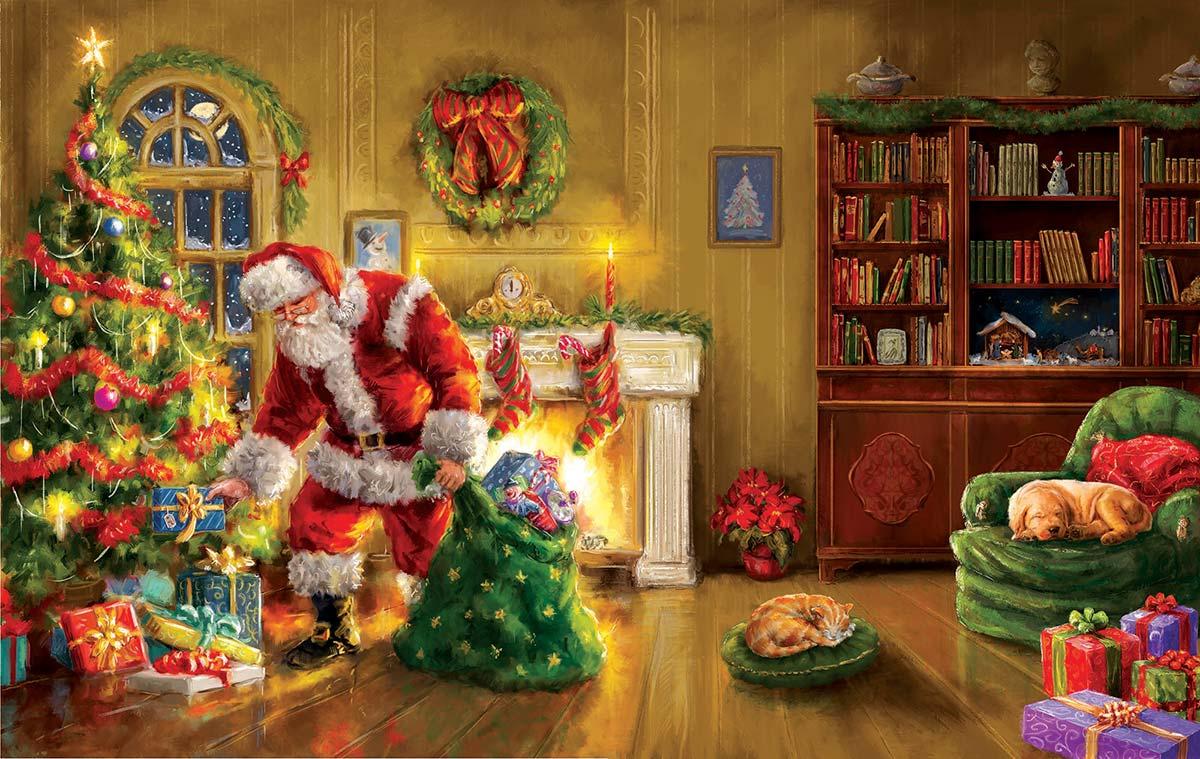 Santa's Special Delivery Santa Jigsaw Puzzle