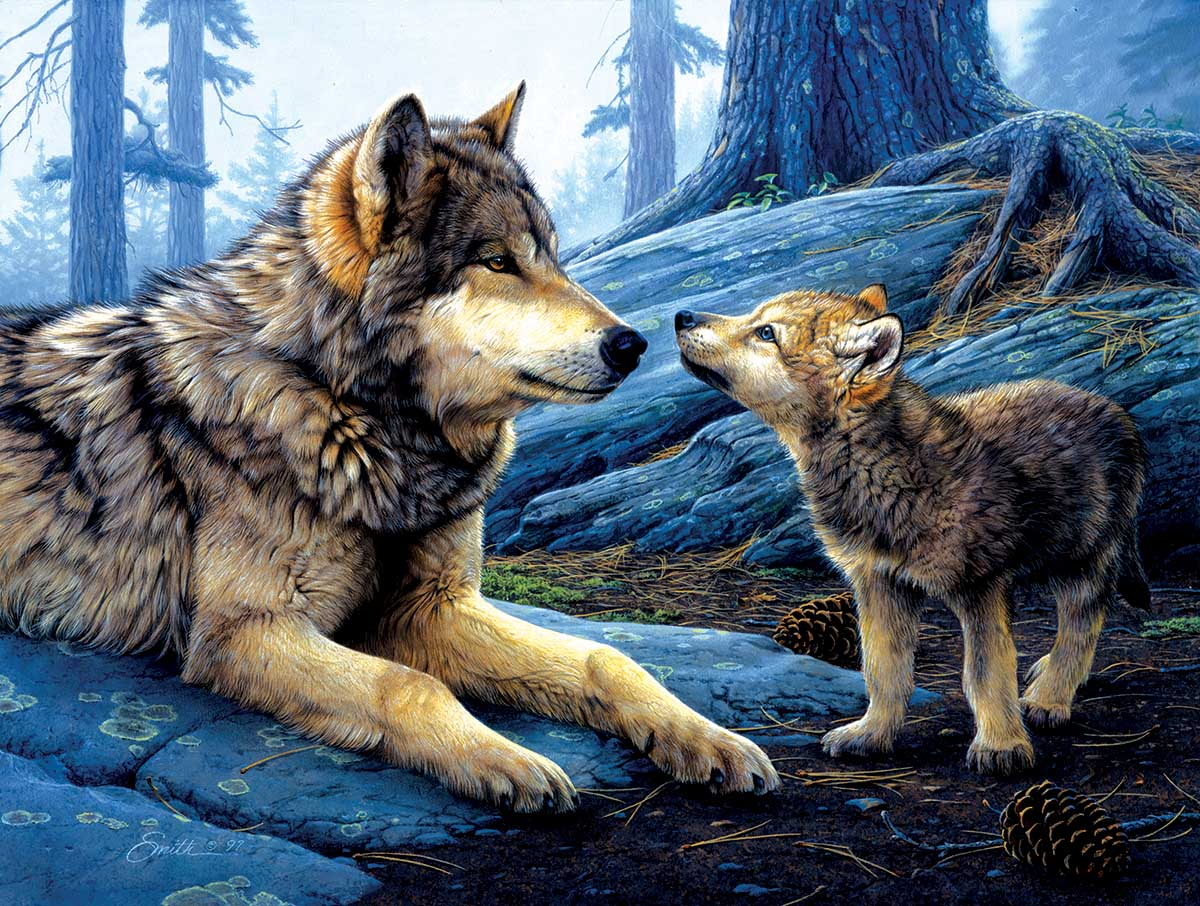Brother Wolf Wolves Jigsaw Puzzle