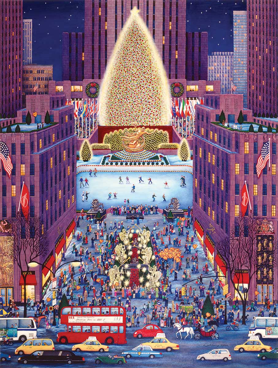 Rockefeller Center New York Jigsaw Puzzle