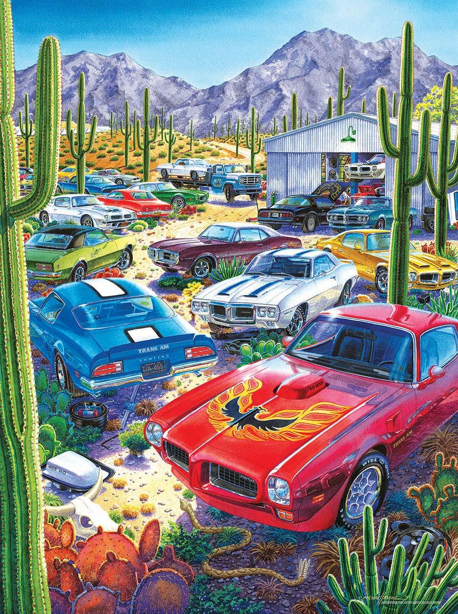 Bird Sanctuary Cars Jigsaw Puzzle
