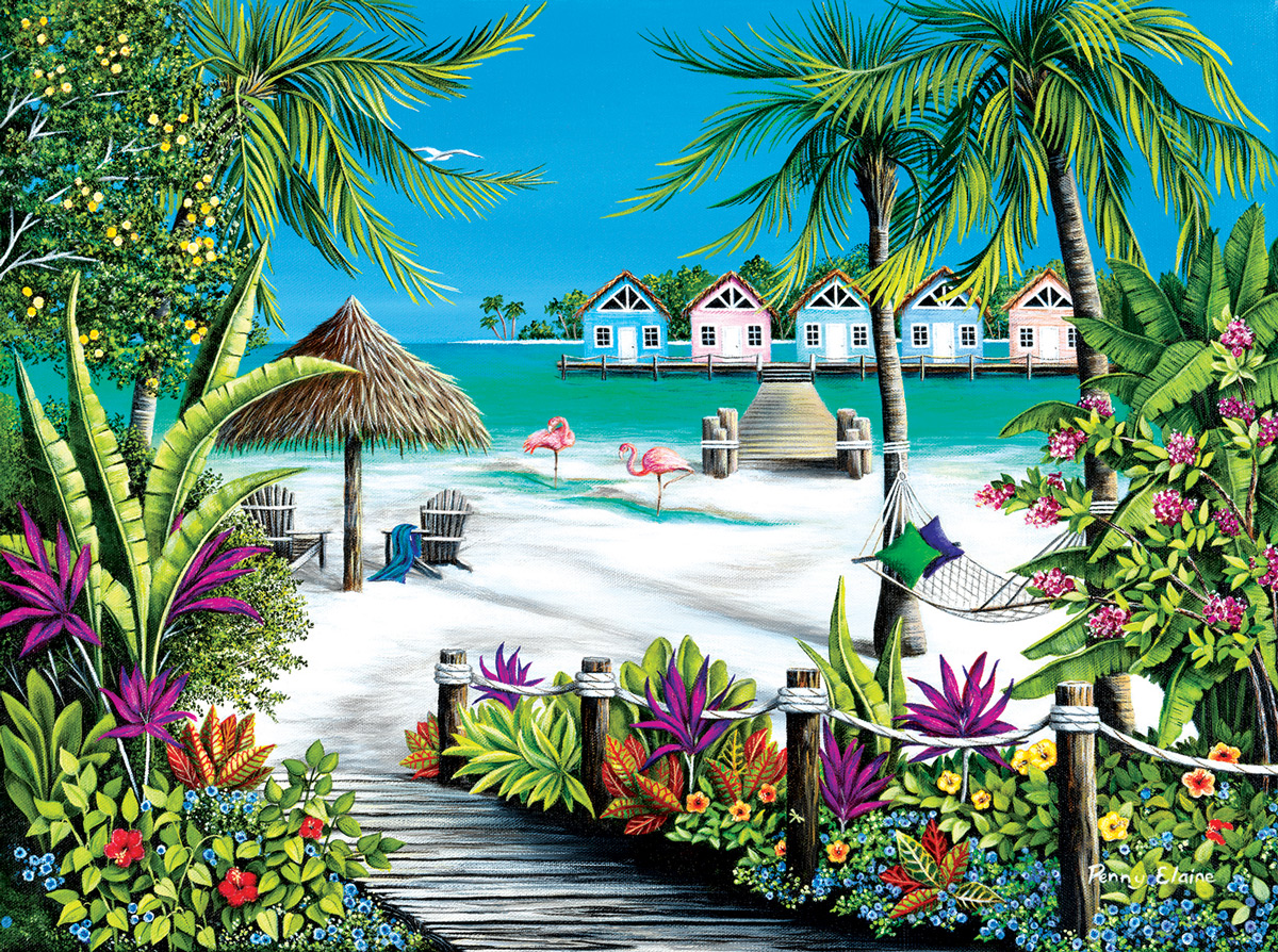 Tropical Escape Travel Jigsaw Puzzle