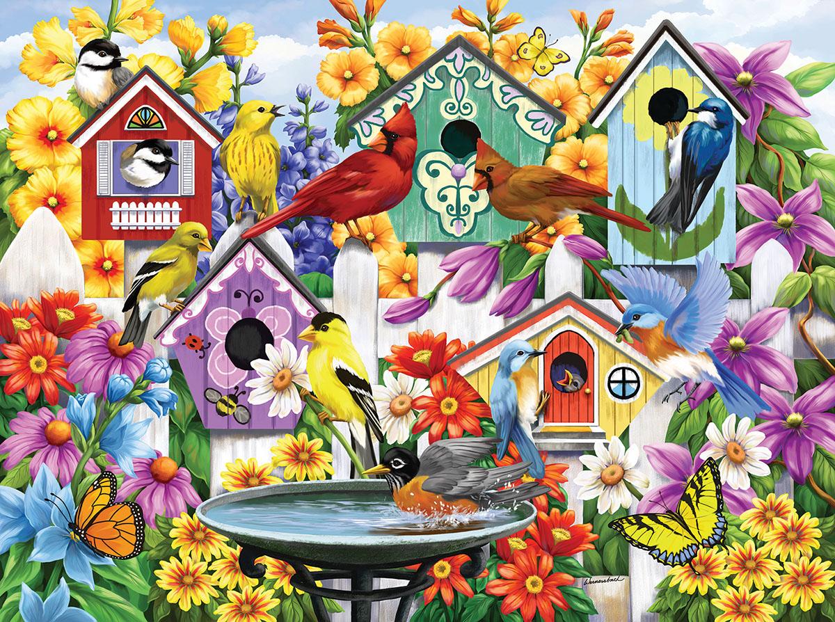 Garden Neighbors Jigsaw Puzzle