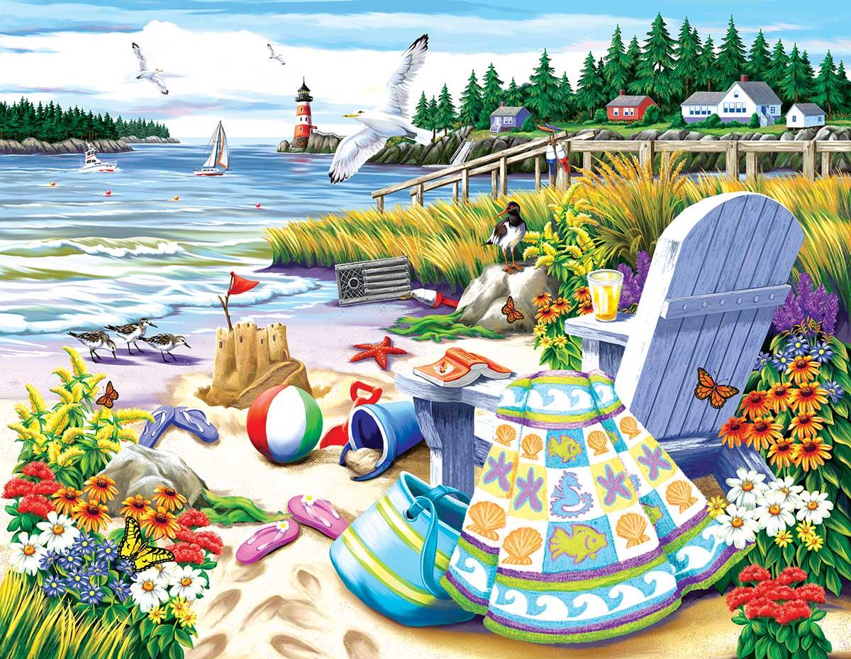 Essence of Summer Beach Jigsaw Puzzle