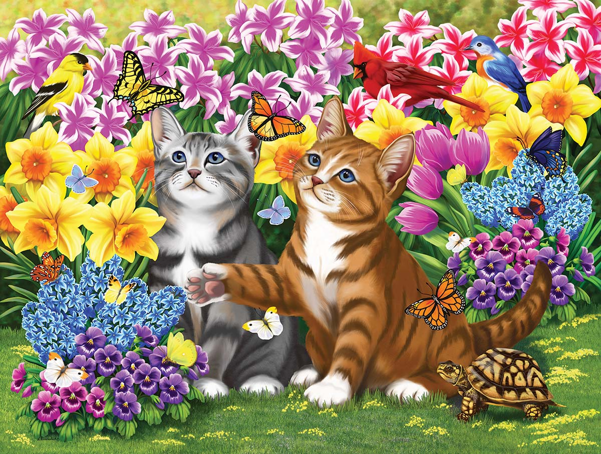 Come and Play Cats Jigsaw Puzzle