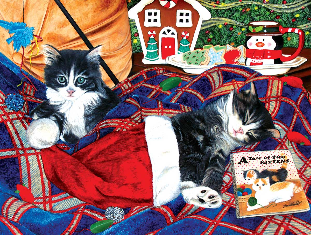 A Tale of Two Kitties Cats Jigsaw Puzzle