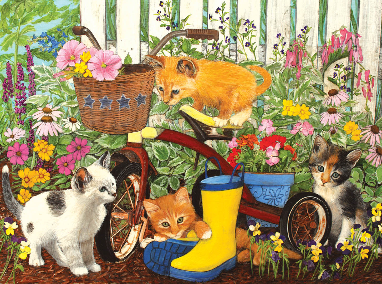I Can't reach the Pedals! Garden Jigsaw Puzzle