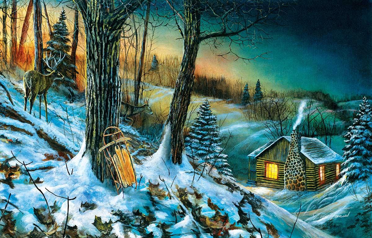 Frozen Memories Winter Jigsaw Puzzle