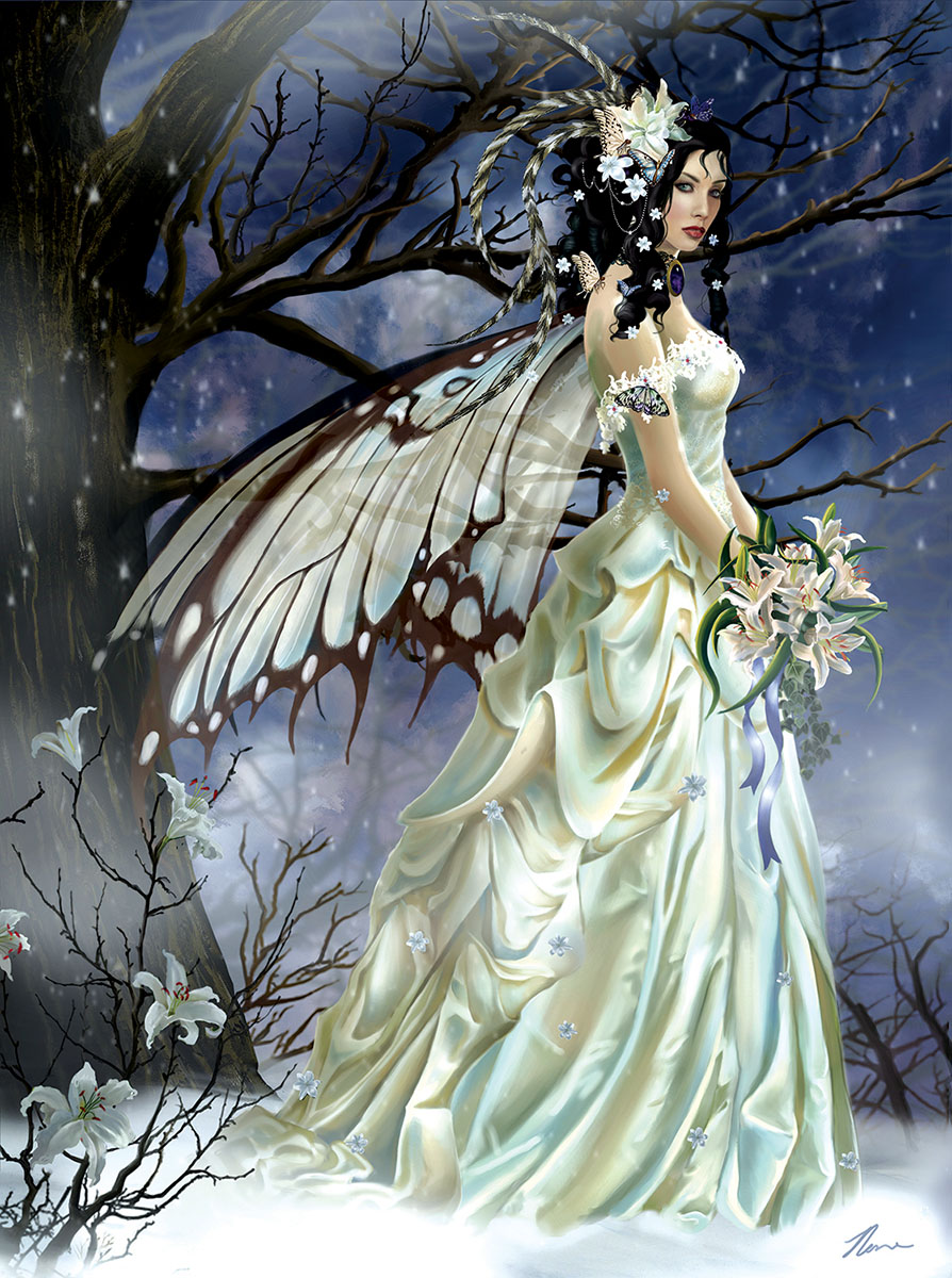 Mist Bride - Scratch and Dent Jigsaw Puzzle
