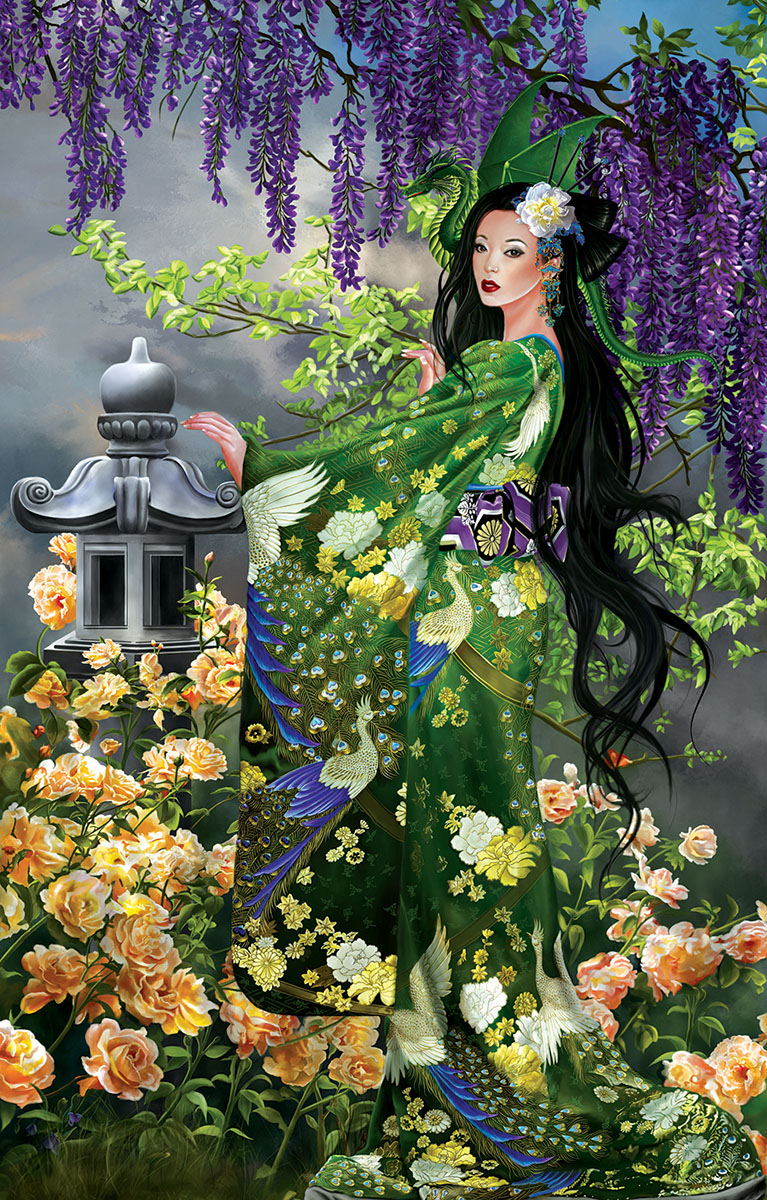 Queen of Jade Fantasy Jigsaw Puzzle