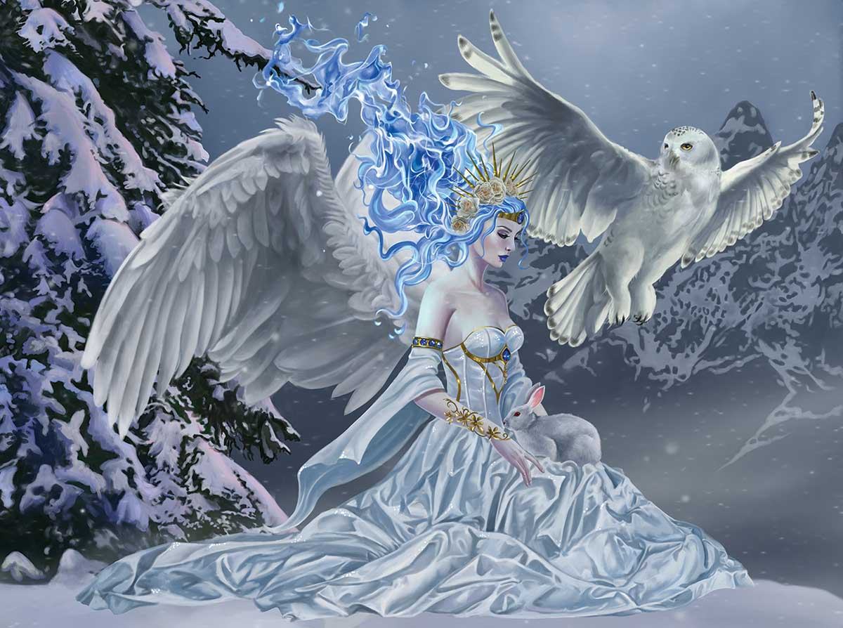 Spirit of Winter Fantasy Jigsaw Puzzle