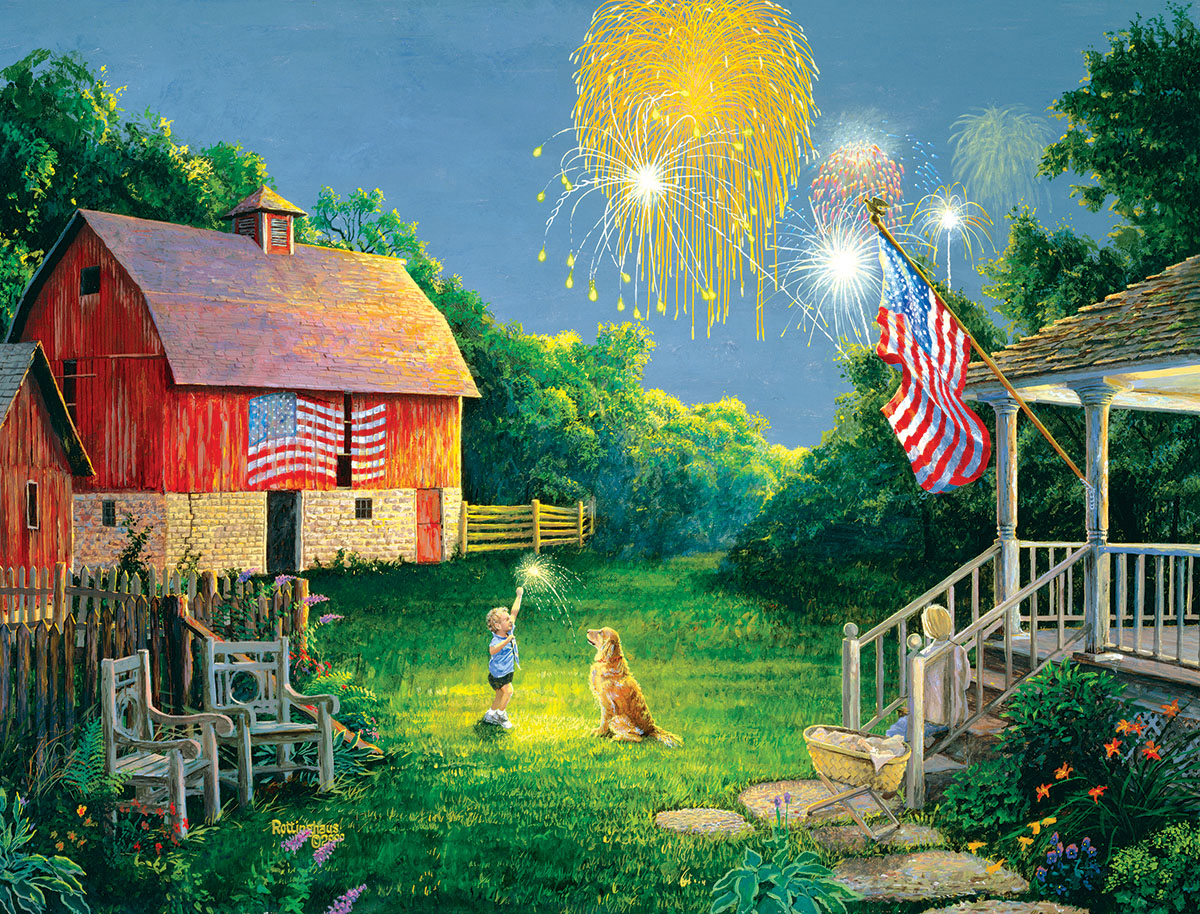 July Celebration - Scratch and Dent Fourth of July Jigsaw Puzzle