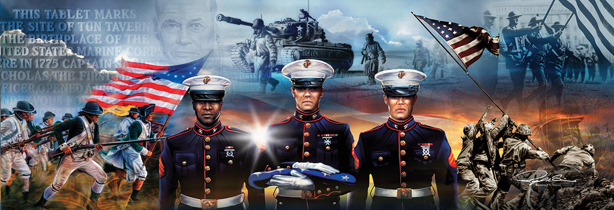 Ever to Serve Patriotic Jigsaw Puzzle