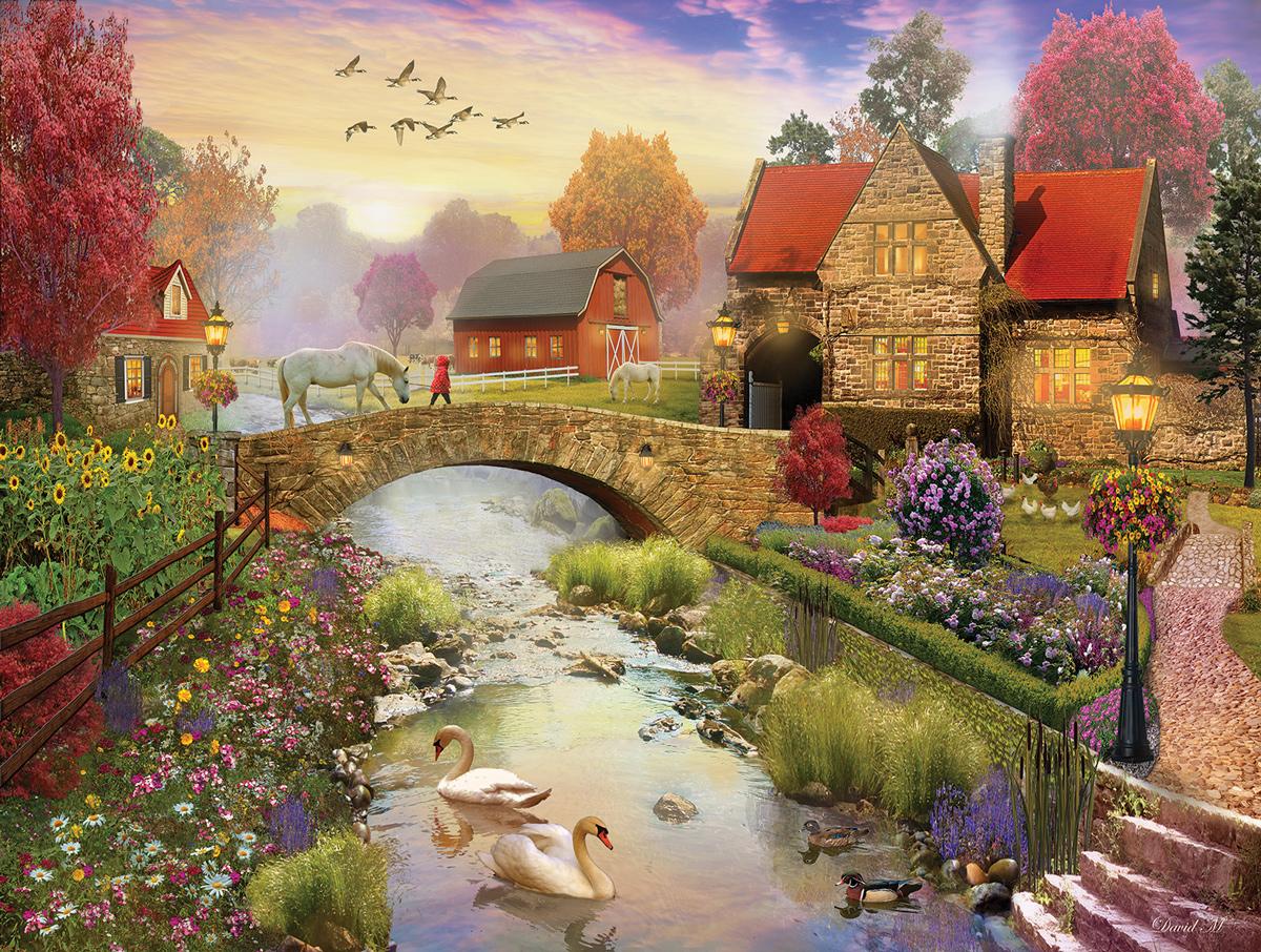 Homestead Farm Jigsaw Puzzle