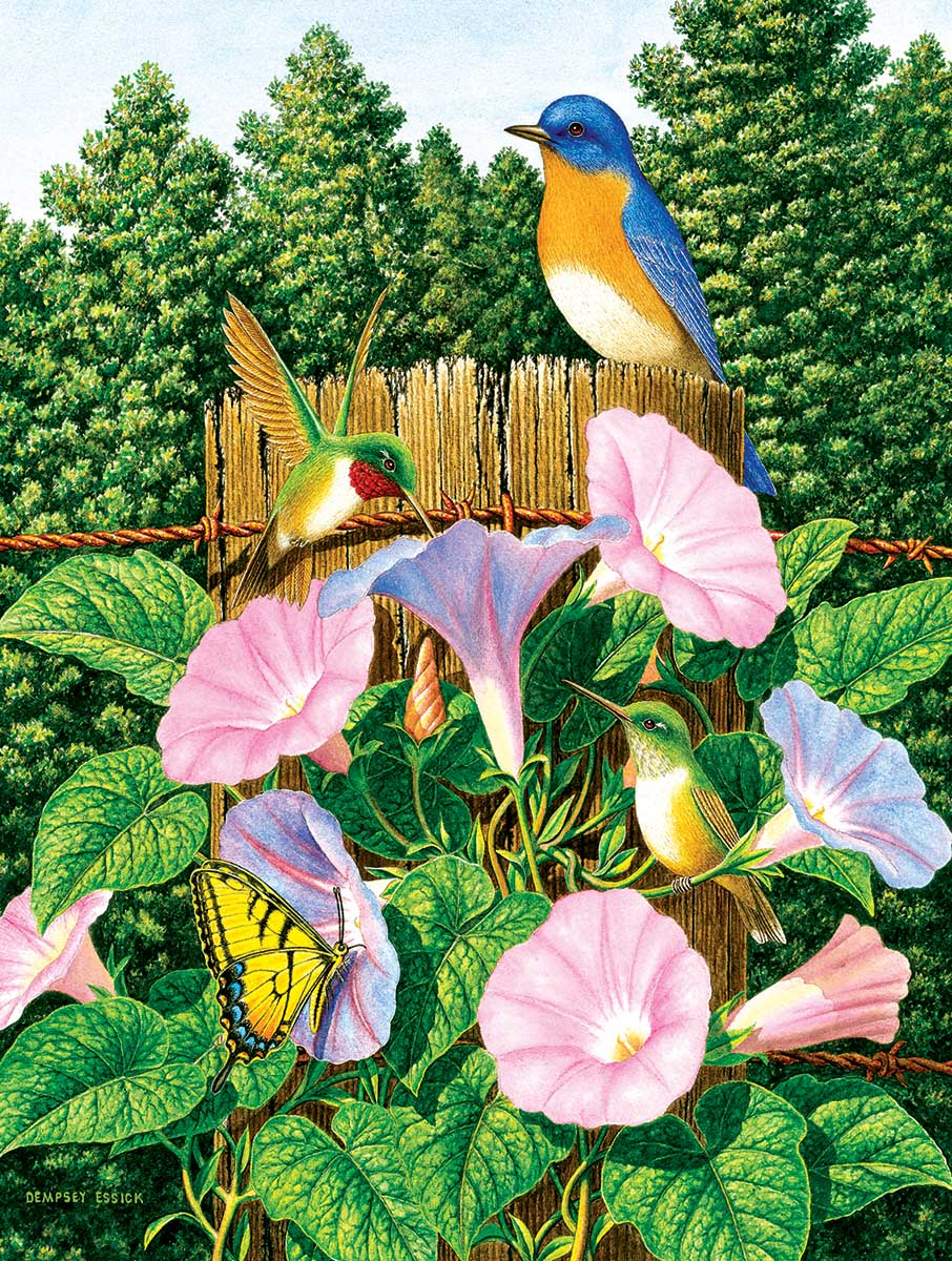 Early Morning Birds Jigsaw Puzzle