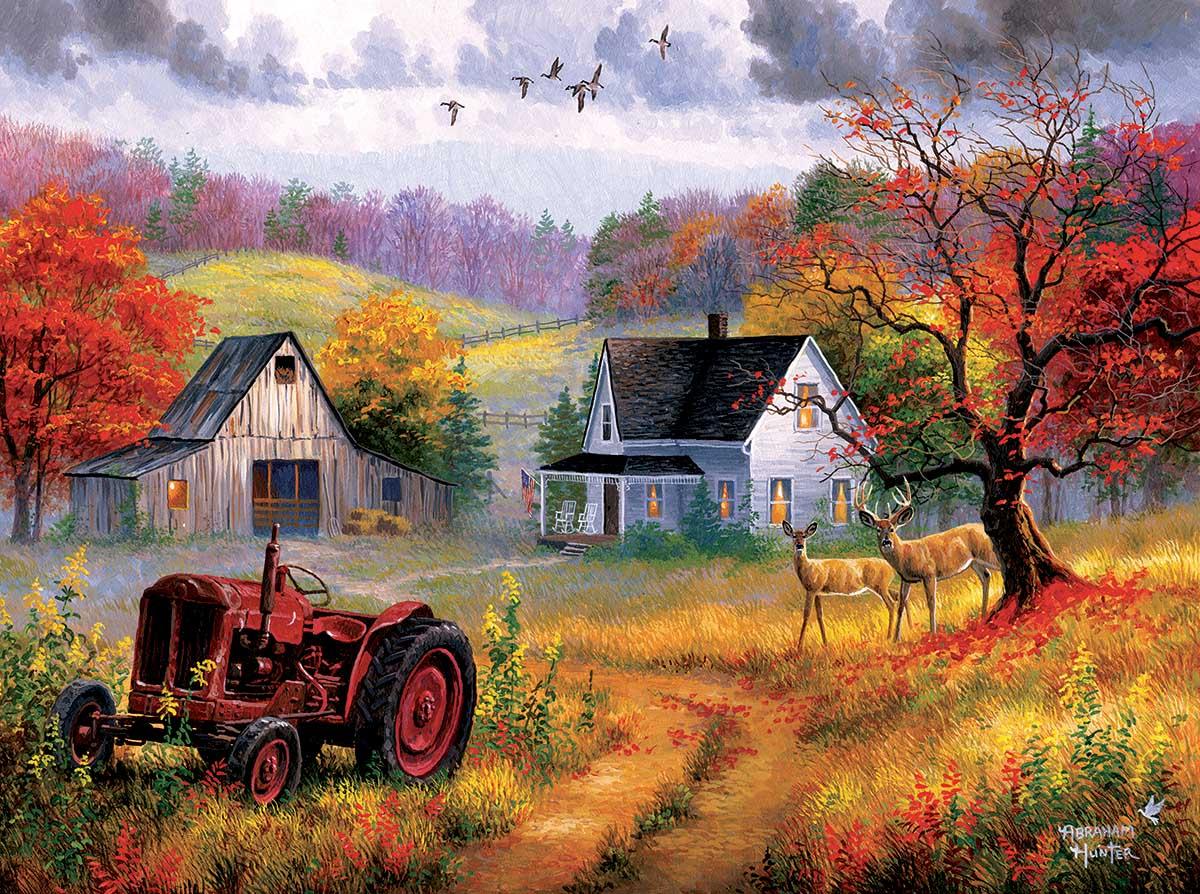 Heartland Home Farm Jigsaw Puzzle