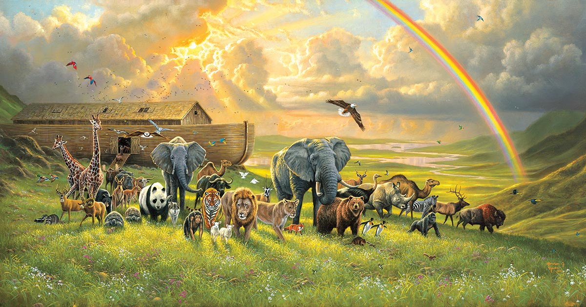 A New Beginning Religious Jigsaw Puzzle