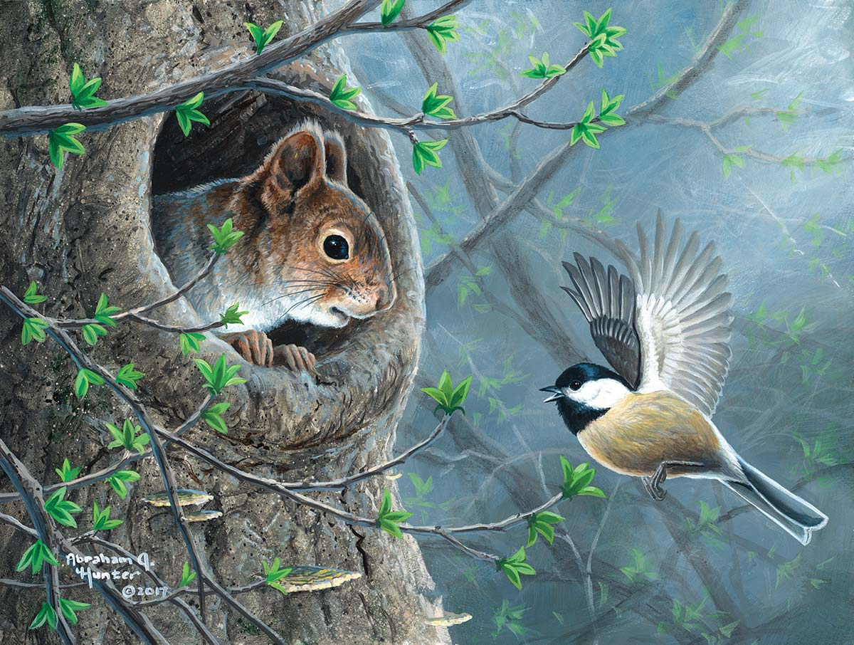 Good News Birds Jigsaw Puzzle