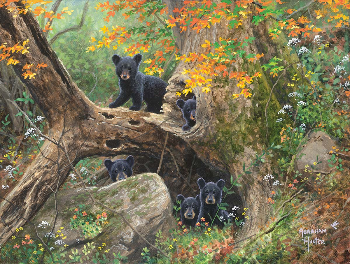 Recess Bears Jigsaw Puzzle