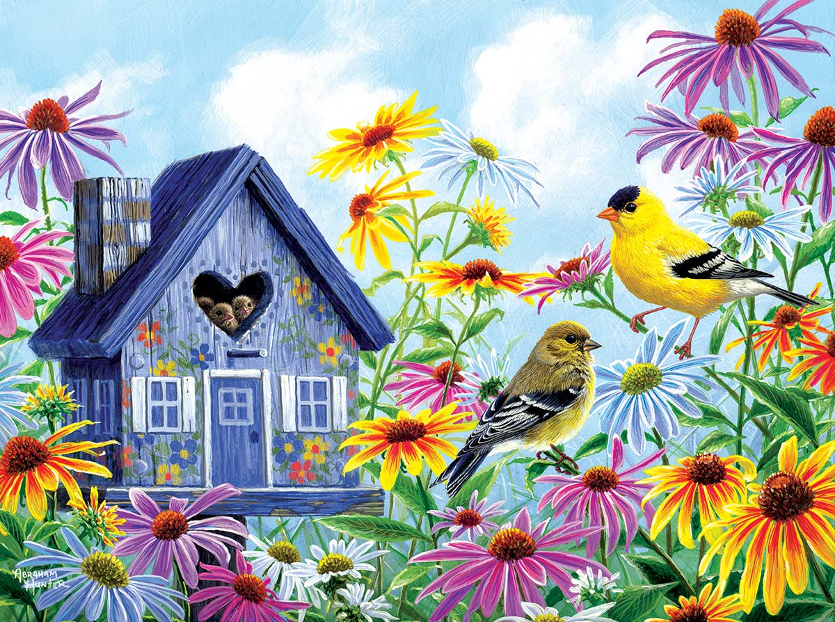 Tweethearts Birds Jigsaw Puzzle
