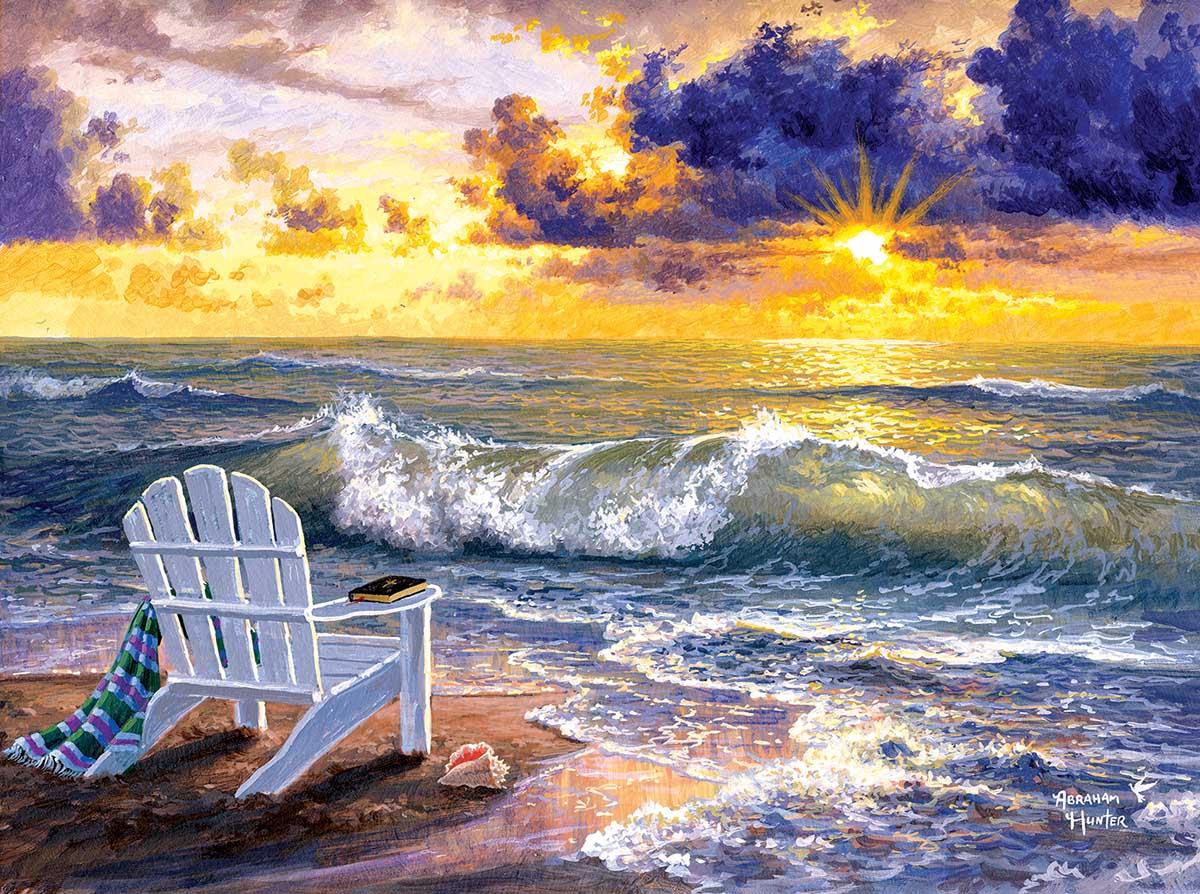 Be Still Beach Jigsaw Puzzle