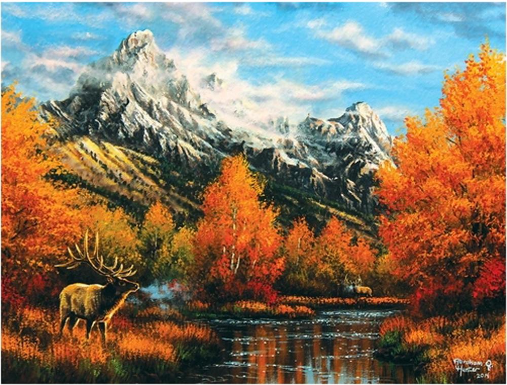 Early Light Wildlife Jigsaw Puzzle