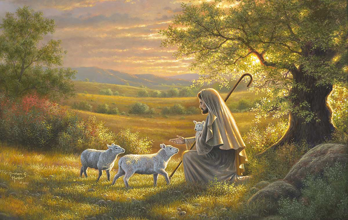Come to Him Religious Jigsaw Puzzle