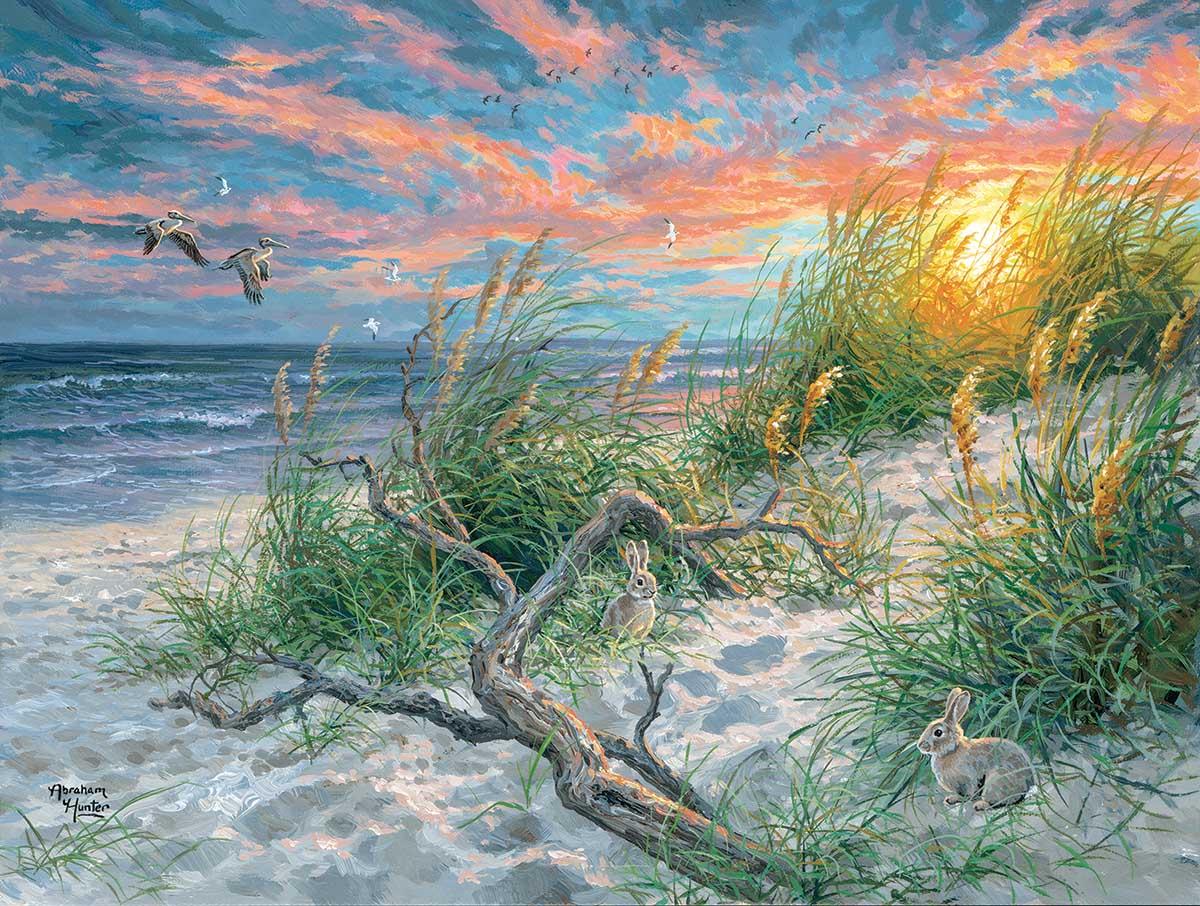 Beach Life Beach Jigsaw Puzzle
